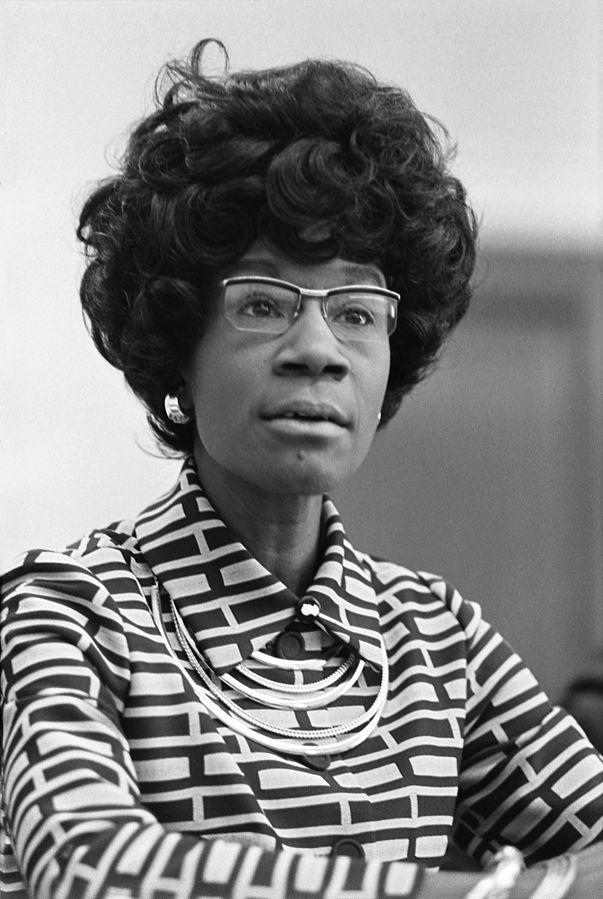 Freedom Fighter Spotlight: Shirley Chisholm