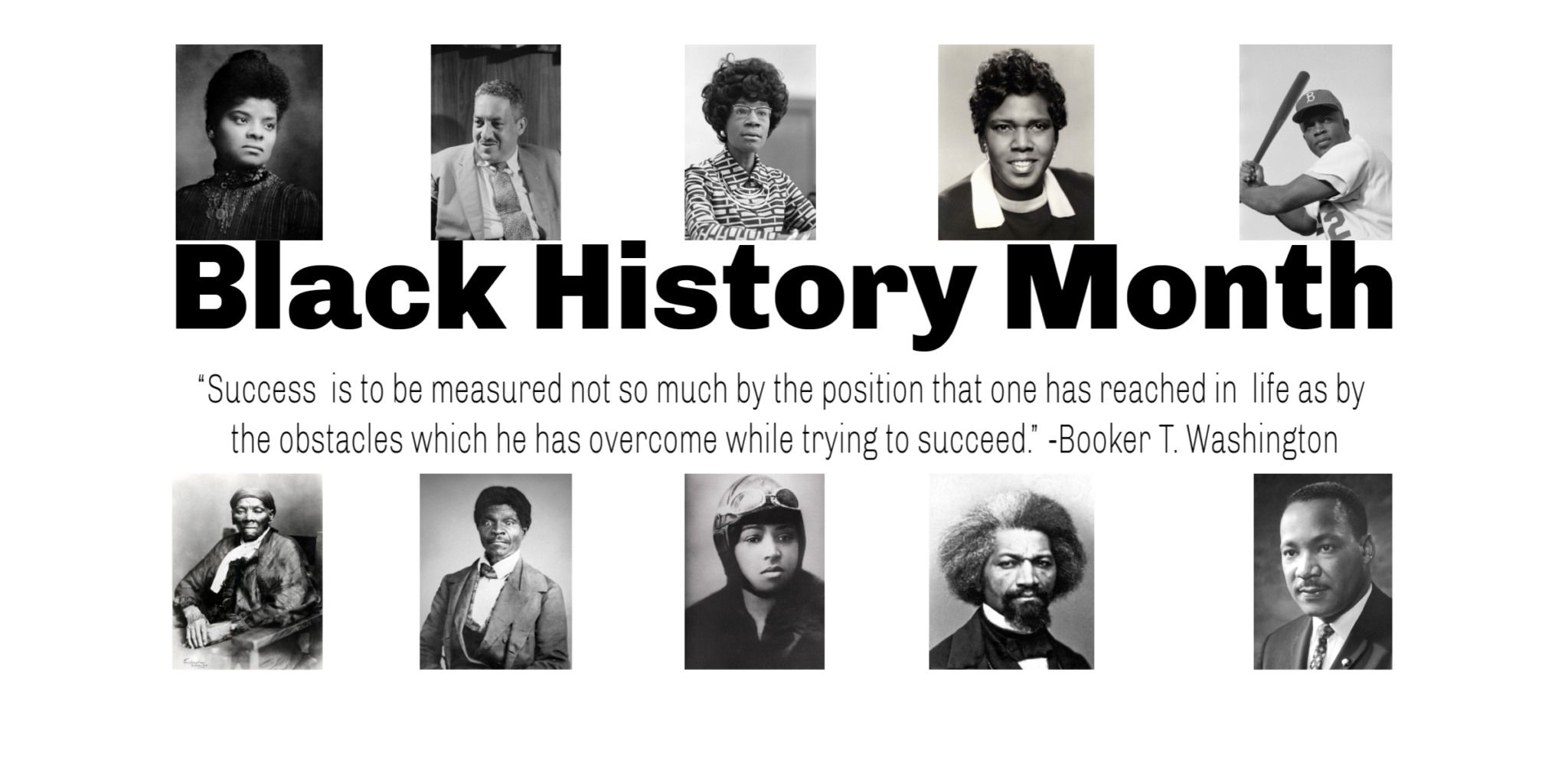 Welcome to Black History Month!